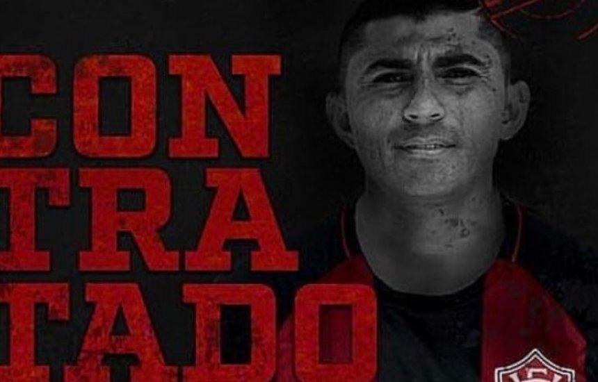 Vitória oficializa contratação do meia Juninho Quixadá