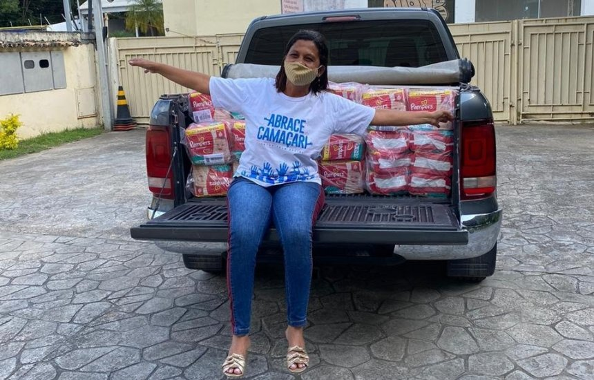 Abrace Camaçari: Doação arrecadada na live de Ivete Sangalo beneficia famílias carentes