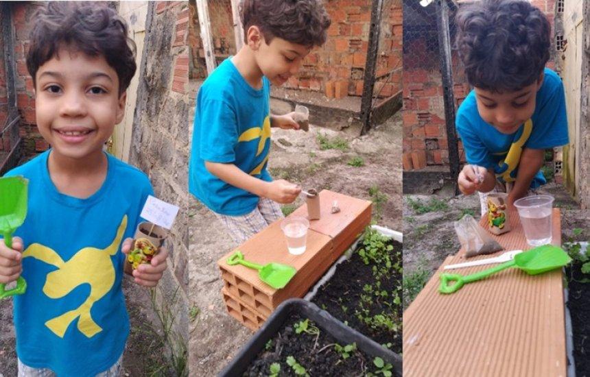 [Programa da Bracell leva educação ambiental para crianças na pandemia]