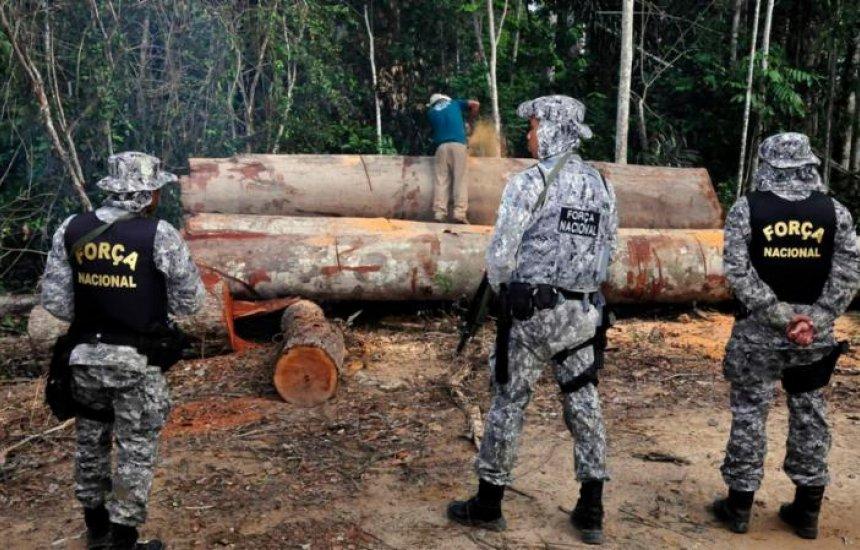 [Governo federal prorroga uso da Força Nacional na Amazônia]