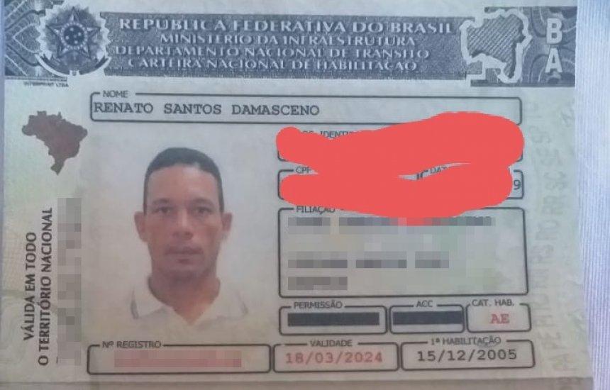[Procura-se documentos perdidos em Camaçari]