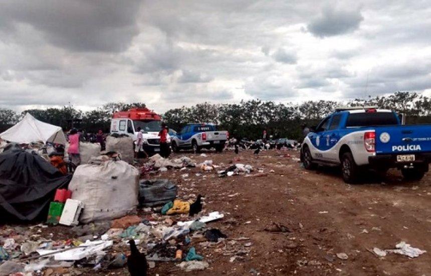 Jovem morre ao ser esmagado por um trator compactador na Bahia