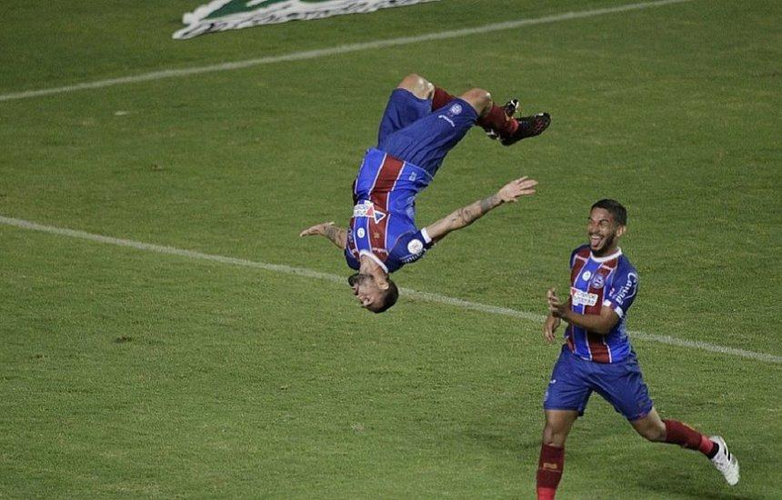 ['Nosso futebol é de luta', diz Gilberto após vencer o Atlético-MG]