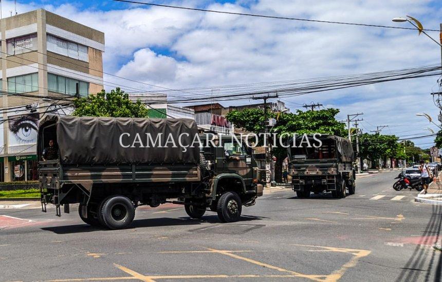 [Exército realiza simulado para Operações de Garantia da Lei e da Ordem em Camaçari]