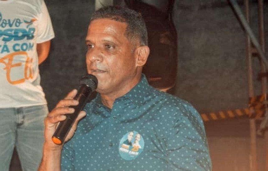 [Eleições 2020: Elinaldo Araújo declara apoio a candidato a vereador Ivanei Soares]
