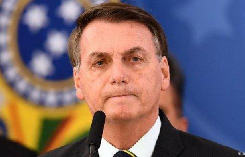 """[Presidente Bolsonaro fala sobre a vacina da China: """"Já existe um descrédito""""]"""