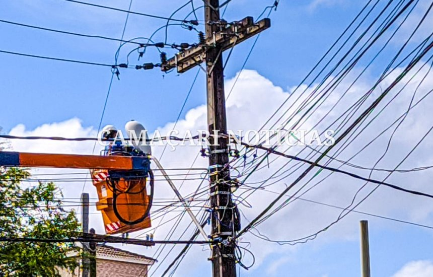 [Coelba informa as regiões de Camaçari que vão ficar sem energia devido manutenção]