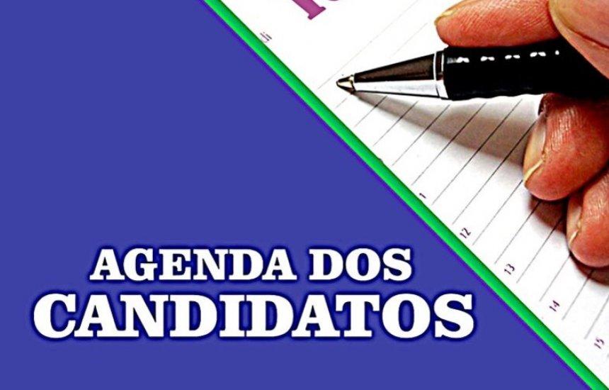 [Agenda dos candidatos a prefeito de Camaçari nesta terça-feira (27)]
