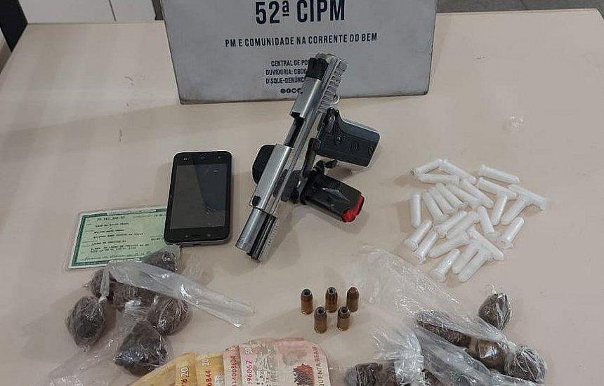 [Suspeito de tráfico de drogas é morto pela PM em Lauro de Freitas]