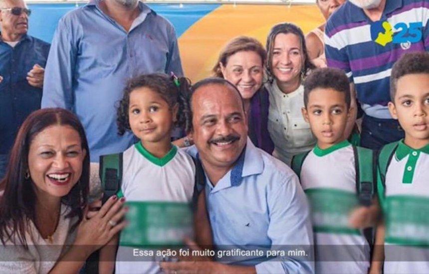 [Programa político de Elinaldo destaca investimentos na educação e qualificação de professores]