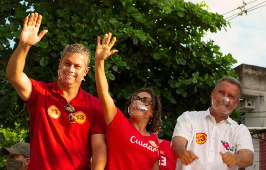 Rui Costa marca presença em Camaçari e participa de carreata de Ivoneide Caetano