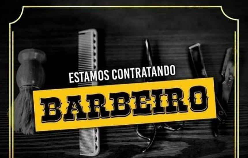 [Vaga de emprego para Barbeiro]