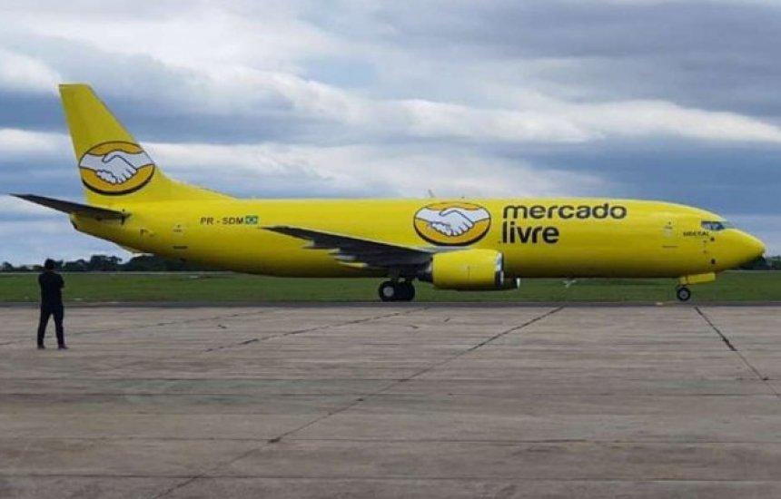 [Mercado Livre adquire própria frota de aviões para entregas no Brasil]