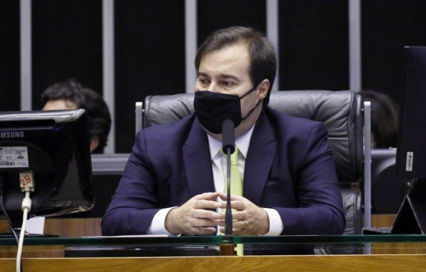[Rodrigo Maia recebe anteprojeto para controle de dados de investigações criminais]