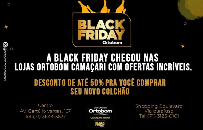 [Black Friday Lojas Ortobom Camaçari. Até 50% de desconto!]