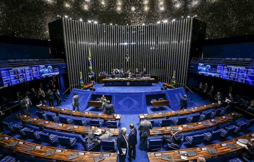 """[Senado vota lei de falências para evitar """"quebradeira"""" em meio à crise]"""