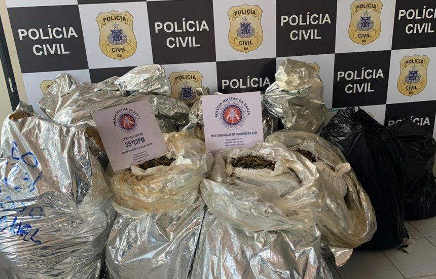 [Polícia apreende droga que abasteceria Camaçari e bairros de Salvador]