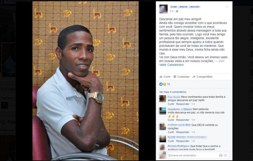 [Suspeito de envolvimento na morte de Valdir Cabeleireiro, em 2016, é preso em Itapuã por outro crime]