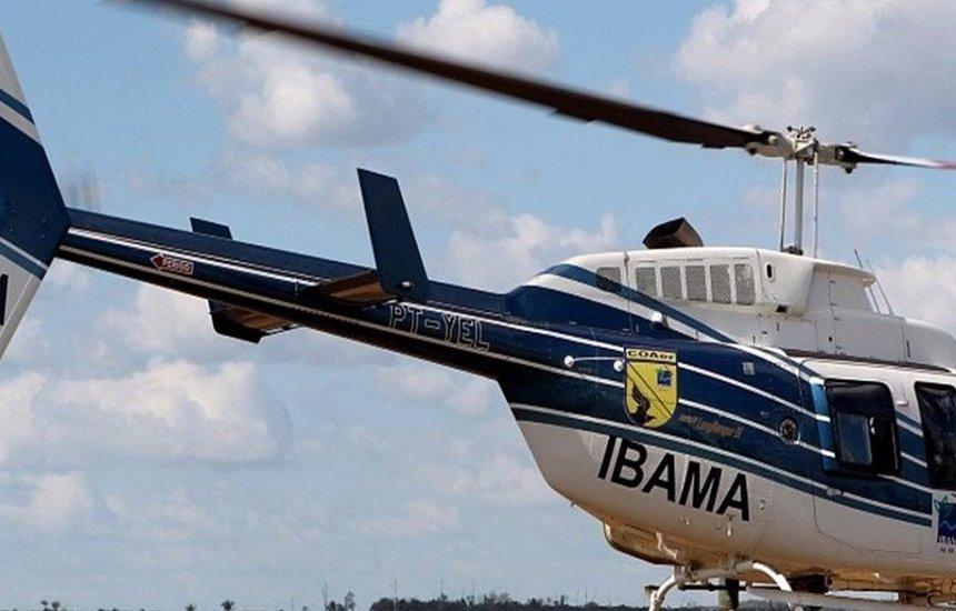 [Helicóptero do Ibama cai no Pantanal e piloto morre no acidente]