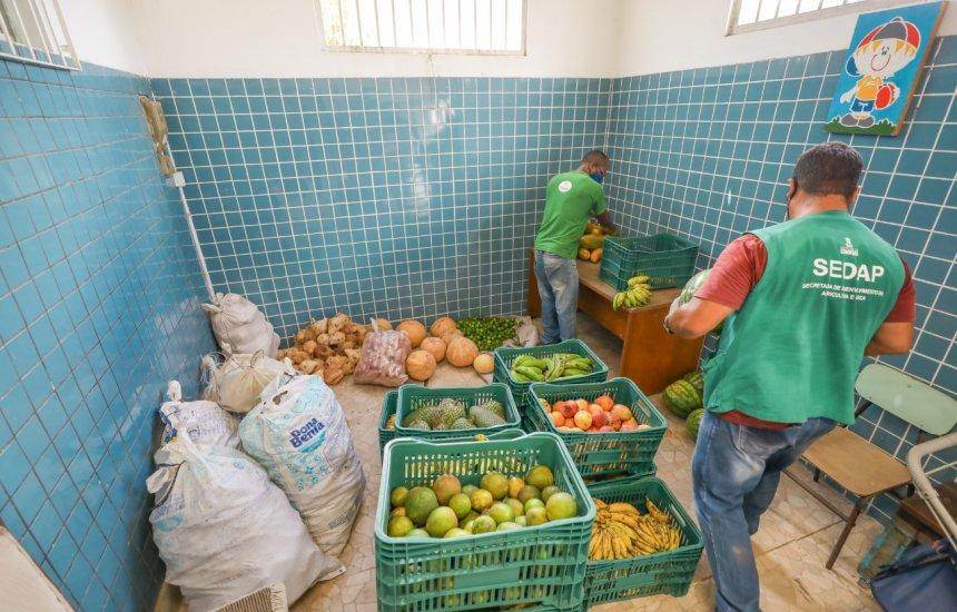 [Instituições beneficentes de Camaçari são contempladas com alimentos adquiridos pelo PAA]