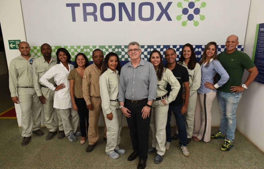 Tronox eleita a melhor empresa entre químicas e petroquímicas