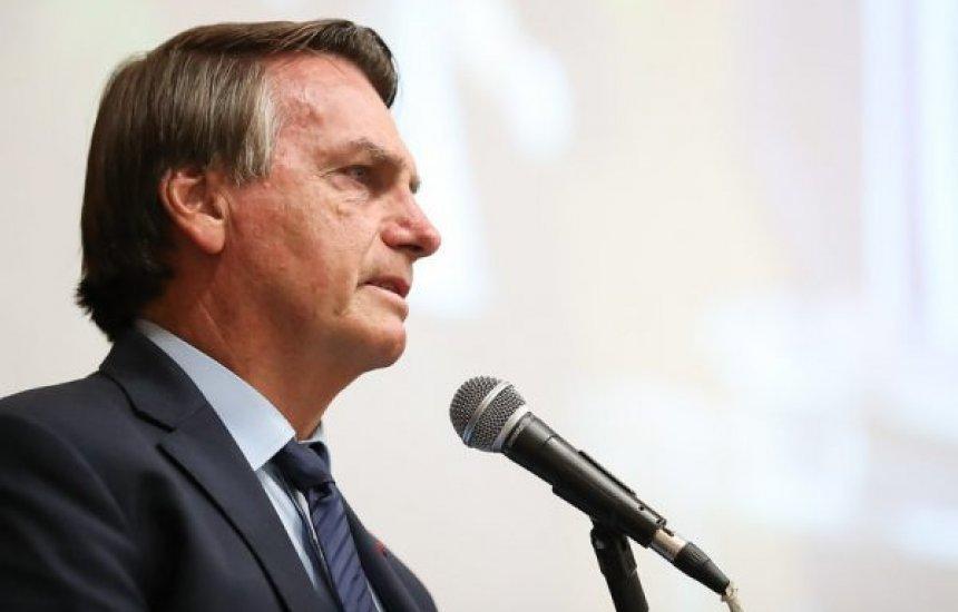 """[""""Estamos vivendo um finalzinho de pandemia"""", diz presidente Bolsonaro]"""