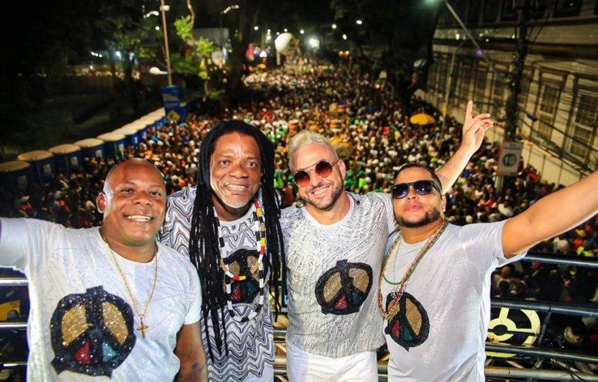 [Olodum realiza live de Carnaval com participação de Margareth Menezes e Ilê Aiyê]