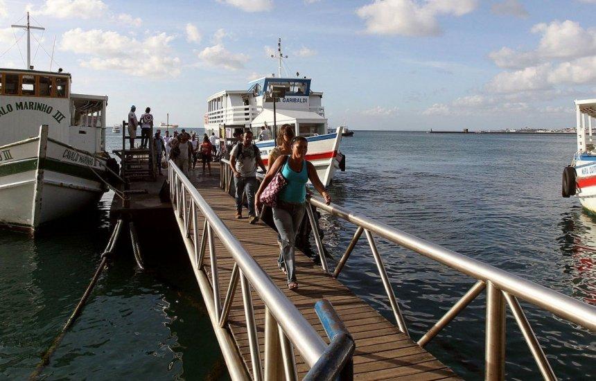 [Escunas de turismo tem operação suspensa pelas ilhas da Baía de Todos-os-Santos]