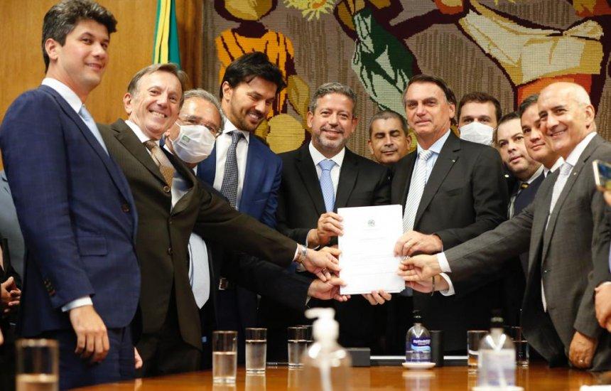 [Governo entrega Projeto de Lei de privatização dos Correios à Câmara]