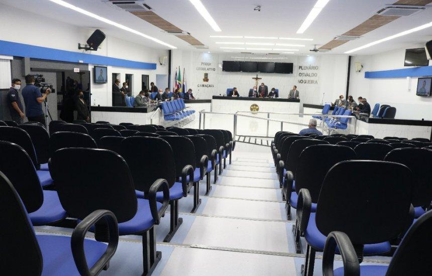 Câmara Municipal de Camaçari permanecerá fechada até próxima sexta (12)
