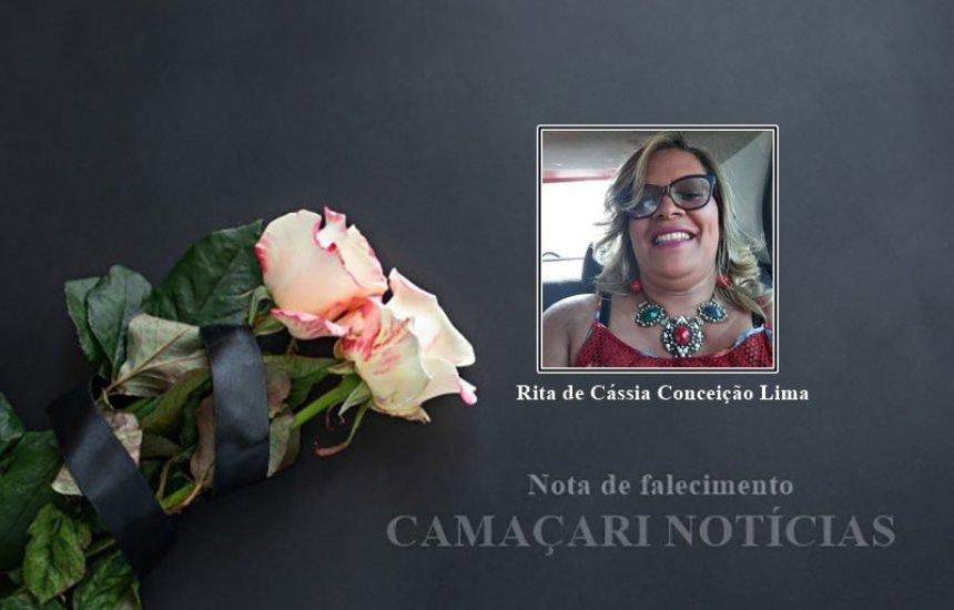 [Nota de Pesar: morre Rita de Cássia, vítima da Covid-19]