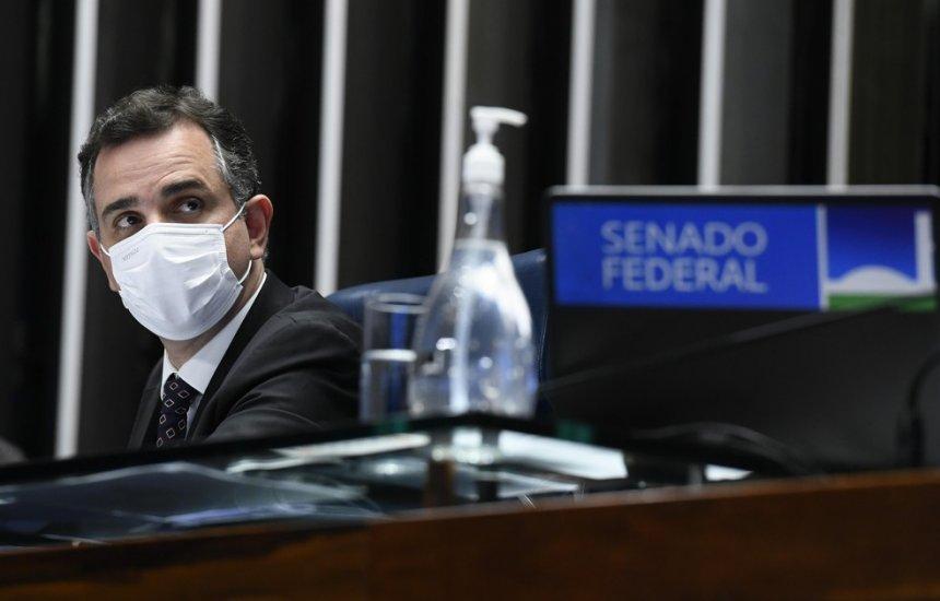 [Presidente do Senado rechaça aumento no valor do auxílio emergencial para R$ 600]