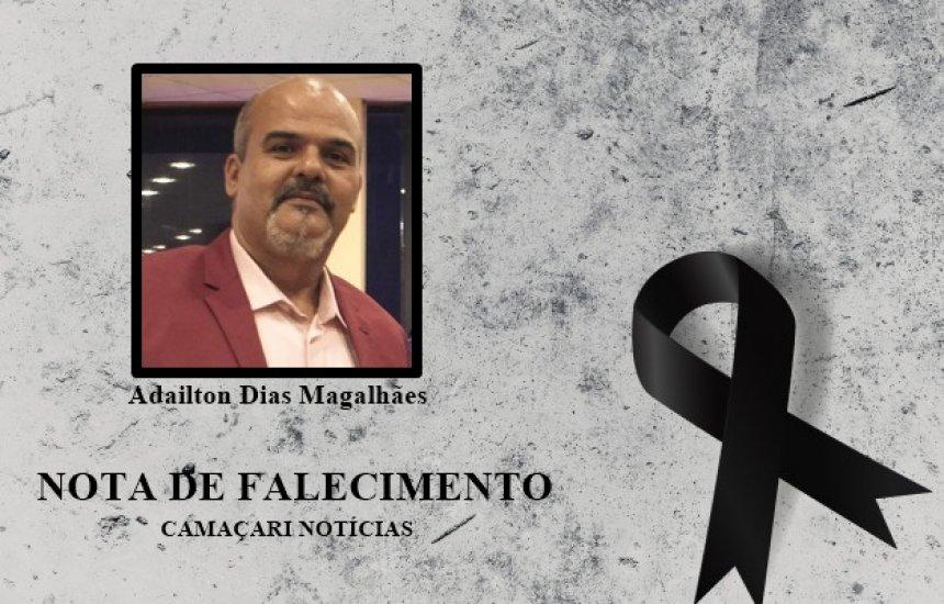 [Familiares e amigos lamentam pela morte do pastor Adailton Dias, vítima da Covid-19]