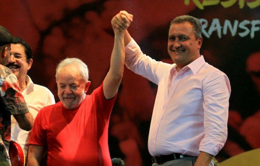 [Lula tem todas as condições de voltar a ser presidente, diz Rui Costa]