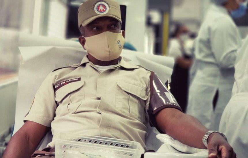 [Hemoba e Polícia Militar iniciam campanha de doação de sangue em toda Bahia]