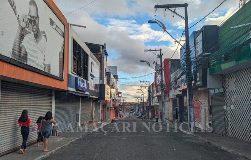 Comércio de rua de Camaçari tem horário de funcionamento alterado a partir desta segunda