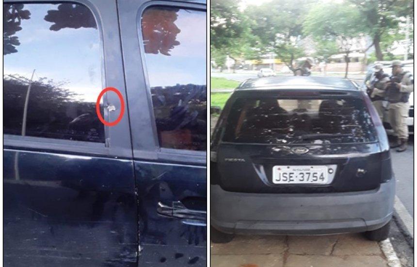 [Polícia localiza carro usado por assassinos de policial civil em Salvador; dois suspeitos são detidos]