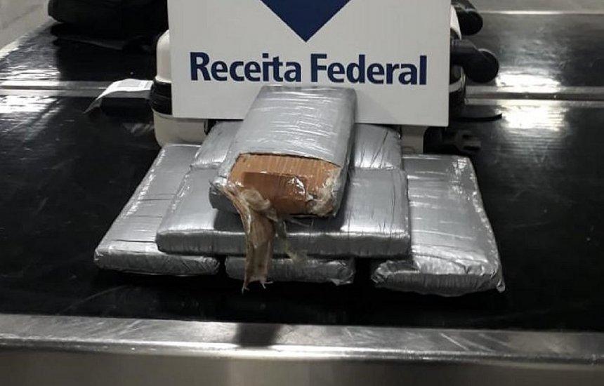 [Passageiro é preso com 6,7 kg de 'super maconha' no Aeroporto de Salvador]