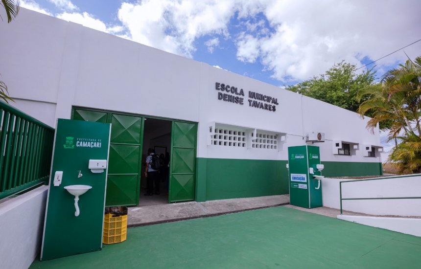 [Centro Educacional é entregue totalmente requalificado em Camaçari]