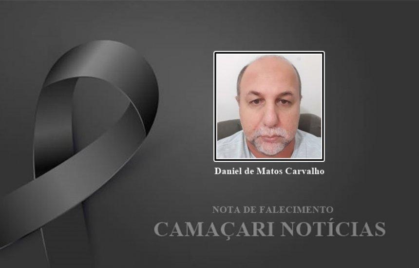 [Familiares lamentam a morte de Daniel de Matos Carvalho]