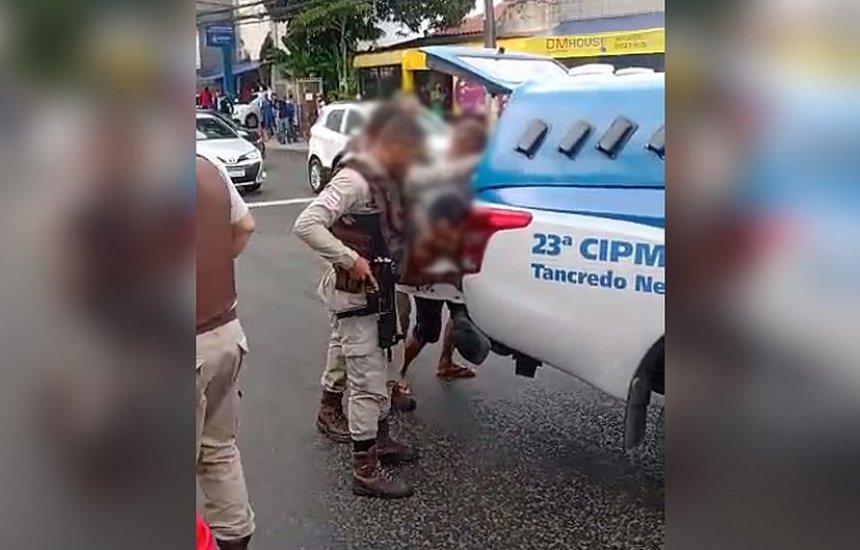 [Policial Militar é morto com tiro na cabeça dentro de viatura em Salvador]