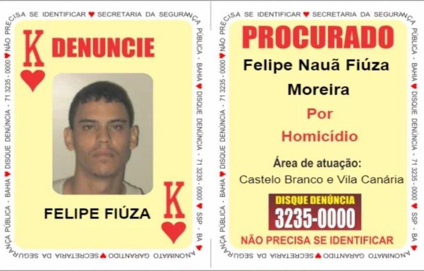 [Suspeito de envolvimento em triplo homicídio na praia de Jaguaribe é preso ao tentar furar bloqueio policial em Simões Filho]