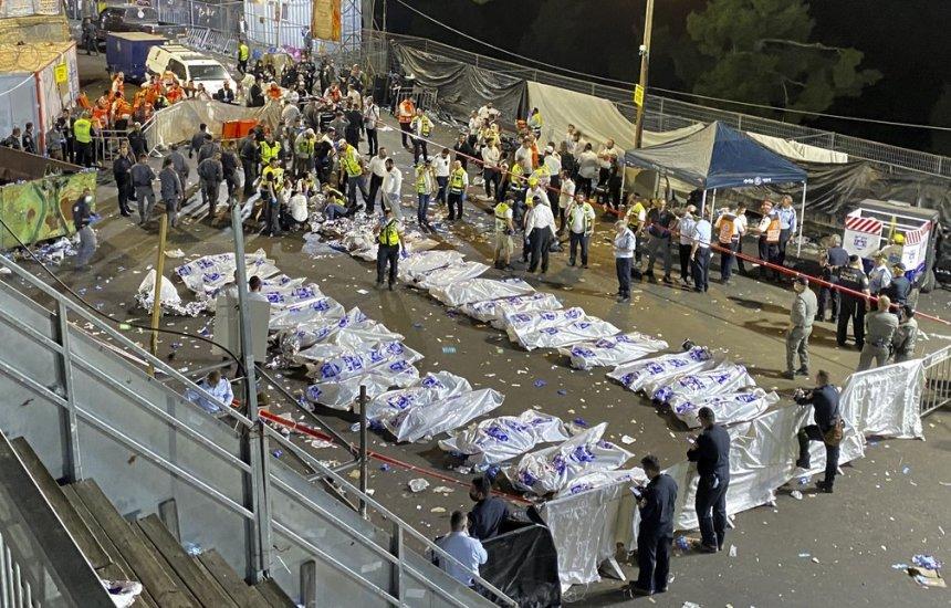 [Tumulto em festival religioso em Israel deixa 45 mortos e mais de 100 feridos]