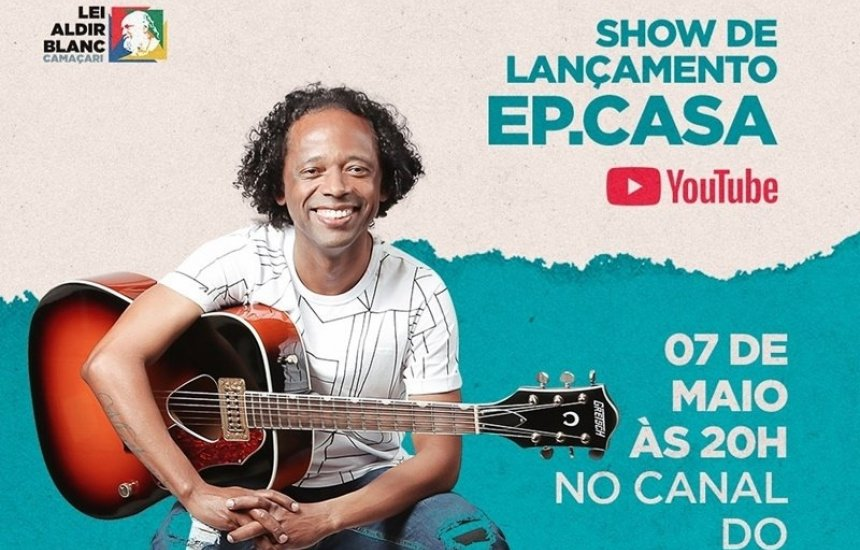 [Rege FX lança EP Casa com show ao vivo pelo canal do YouTube]