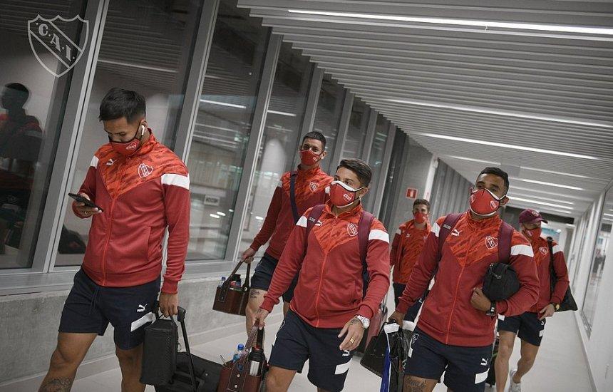 [Jogo Bahia x Independiente é adiado após jogadores testarem positivo para covid]