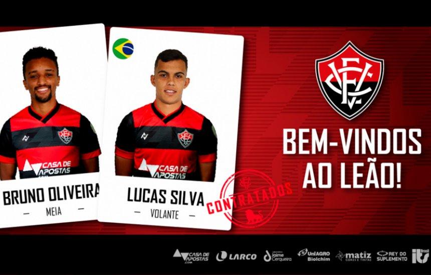 [Bruno Oliveira e Lucas Silva são os novos contratados do Vitória]