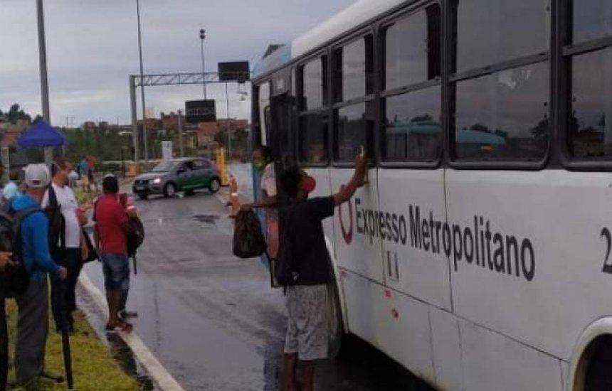 [Mulher é baleada durante assalto a ônibus no bairro de São Cristóvão]