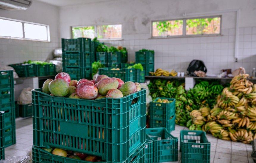 [Sedap realiza nova compra de produtos agrícolas em Monte Gordo e no Banco de Alimentos]