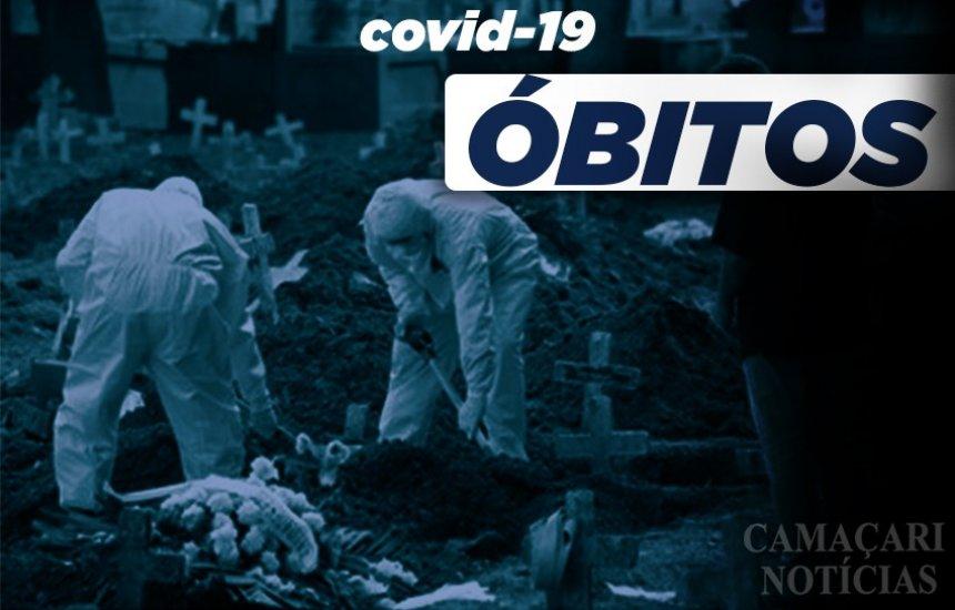 [Boletim coronavírus: 7 óbitos por Covid-19 são confirmados em Camaçari]