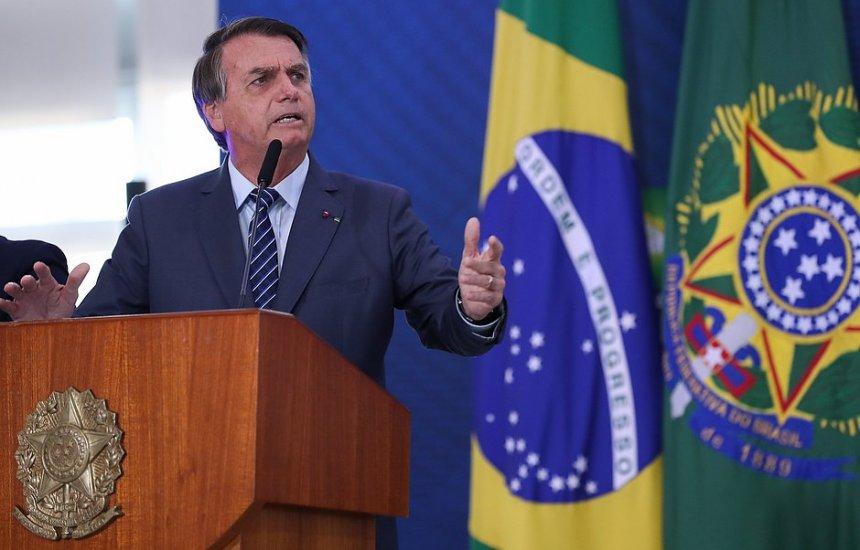 [Bolsonaro libera crédito de R$ 5,5 bi para 50 milhões de doses de vacina contra covid]